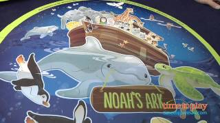 2-in-1 Noah's Ark Floor Puzzle From Wee Believers