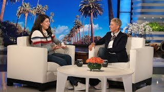 Ellen Makes a Huge Fan