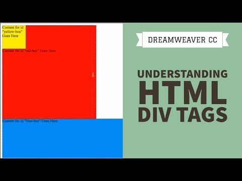 Understanding HTML Div Tags - Dreamweaver CC Tutorial [23/34]