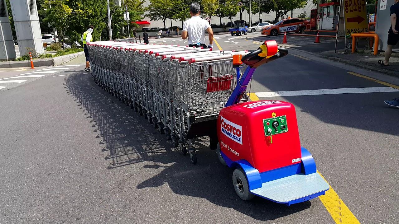 wal mart cart pusher