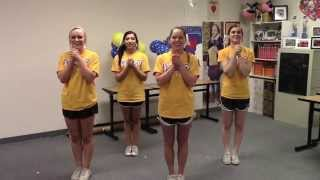 Frisco High School Cheer Chants Video