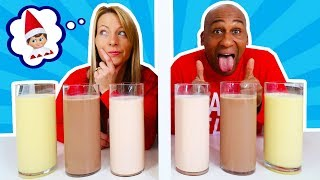 TWIN TELEPATHY MILKSHAKE CHALLENGE!! Parents Edition