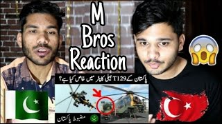"""Indian Reaction On Turkish Gift For Pakistan Army """"T129 Helicopter"""" 