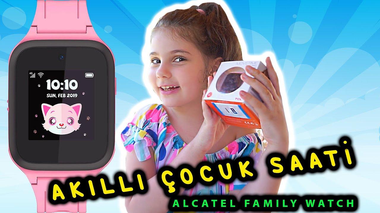 AKILLI ÇOCUK SAATİ - ALCATEL MOVETIME FAMILY WATCH mt40 - EYLÜL TONTİK TV