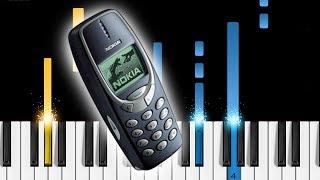 Скачать Nokia 3310 Ringtones Piano Tutorial
