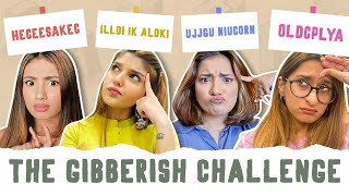 GUESS THE GIBBERISH CHALLENGE | DAMNFAM |