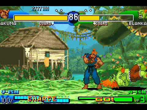 Street Fighter Alpha 3 Gba Akuma Run Youtube