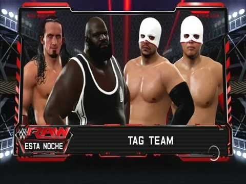 RAW Henry & Neville VS Los Matadores