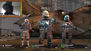 Blacklight: Retribution (PC) Road to Lvl 50 Live Multiplayer Gameplay w/Facecam #2 - HEADSHOT!