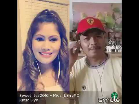 KINSA SIYA - smule cover duet w Sweettes+MigsLarry