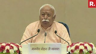 Mohan Bhagwat's Address At RSS Conclave, Vigyan Bhawan | #RSSReachesOut
