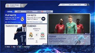 FIFA 19 CAREER MODE FIRST FULL GAMEPLAY