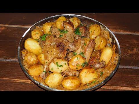 Как приготовить утку с картошкой на сковороде