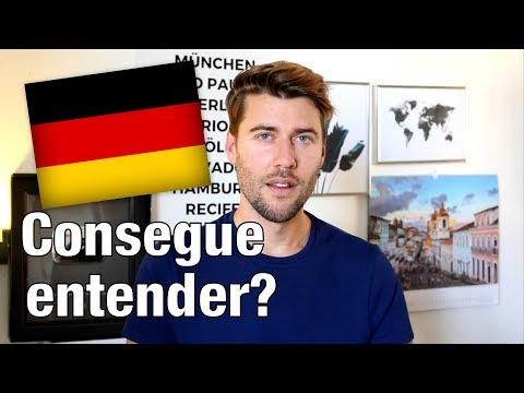 Um video inteiro EM ALEMÃO🇩🇪 (com legendas)   Ein Video komplett AUF DEUTSCH (mit Untertiteln)