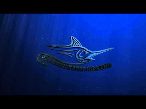 ocean blue graphics fishing shirts