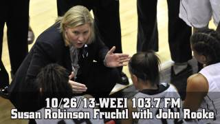 10/26/13-WEEI 103.7 FM Susan Robinson Fruchtl with John Rooke