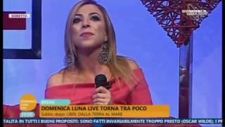 ANNALAURA GAUDINO   Domenica Luna Live  15 01 17