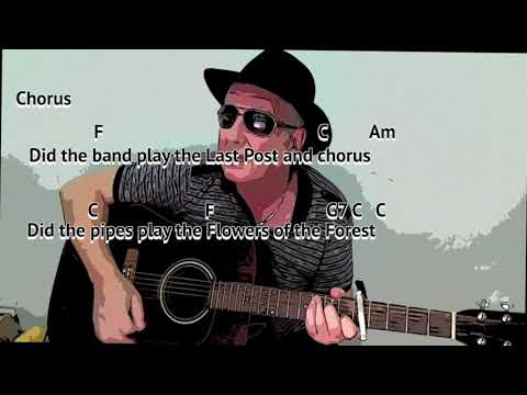 The Green Fields of France - The Fureys cover - easy chord