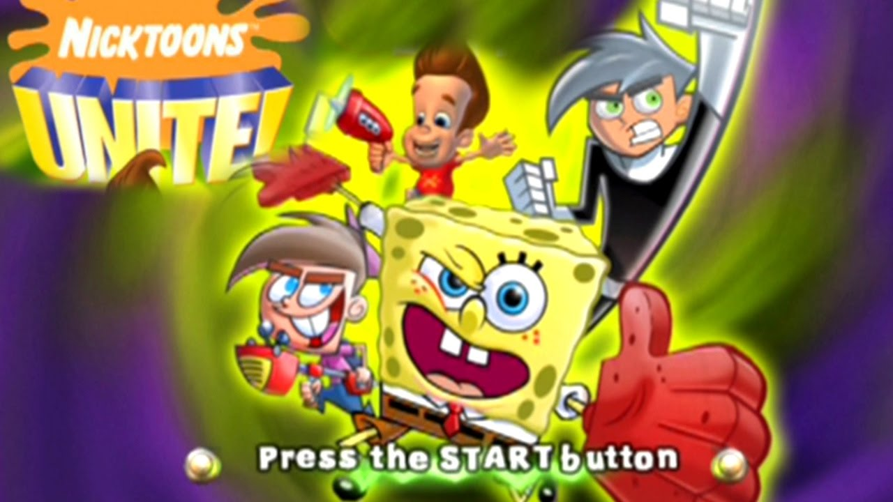 nicktoons unite ps2 iso download