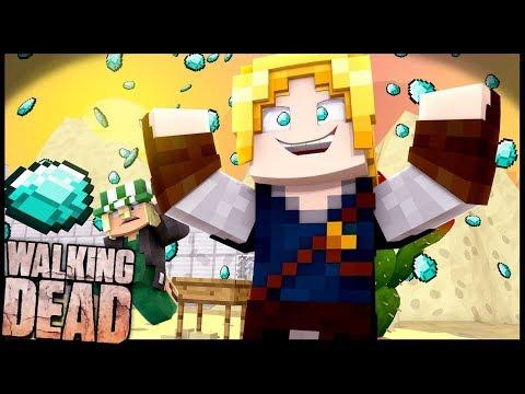 FARMANDO DIAMANTES!! - Walking Dead #12: Minecraft