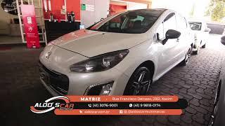 LINDO PEUGEOT 308 GRIFFETHP TOP DE LINHA AQUI NA ALDO'S CAR MULTIMARCAS