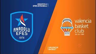 EuroLeague 27. Hafta: Anadolu Efes - Valencia Basket