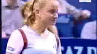 Jelena Dokic vs. Monica Seles