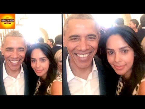 Mallika Sherawat MET Barack Obama AGAIN | Bollywood Asia