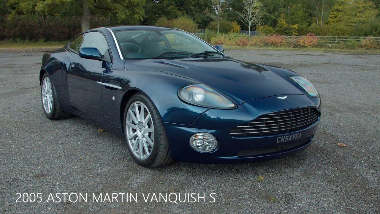 2005 Aston Martin Vanquish S Youtube