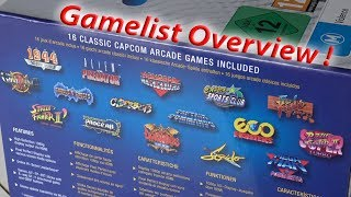 Capcom Home Arcade - 16 Game Complete Overview