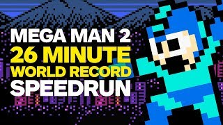 Mega Man 2 World Record Speedrun in 26 Minutes - Stafaband