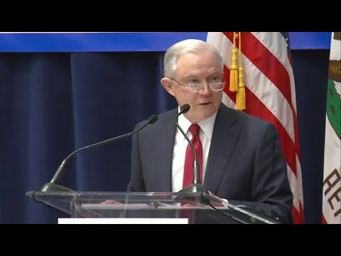 Sessions calls out California on immigration after announcing DOJ lawsuit