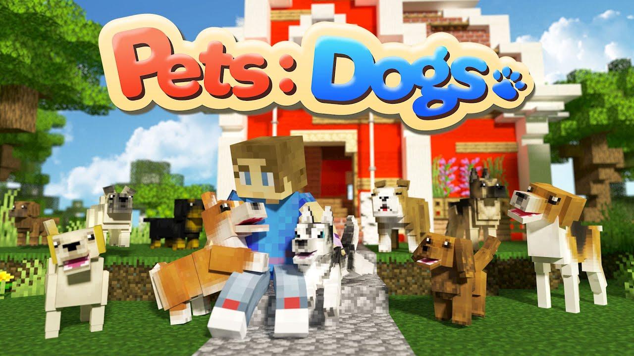 Pets Dogs Minecraft Marketplace Map