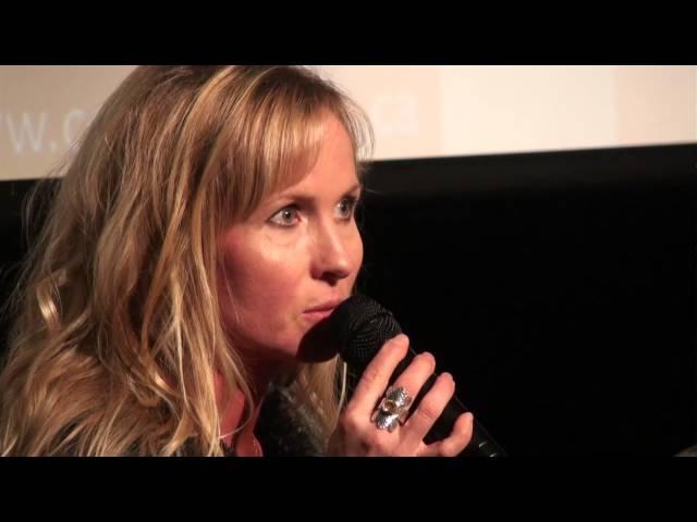 Colleen Doey Kelba at Women Talk 2014