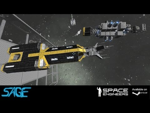 Space Engineers, Mega Construction Ships