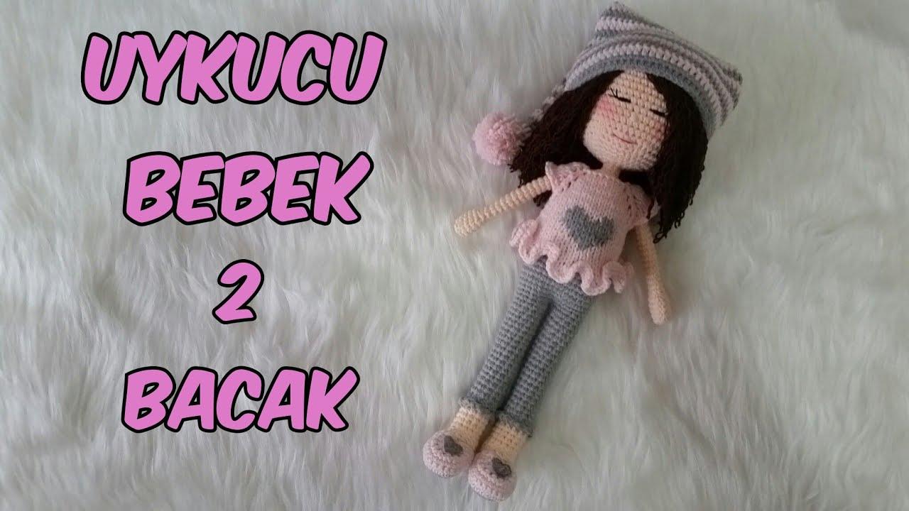 Amigurumi Zeynep bebek bacak ve diz kapağı örülüşü.. - YouTube ... | 720x1280