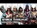 ISTORIJA/EVOLUCIJA ASSASSIN'S CREED IGRICE !!!