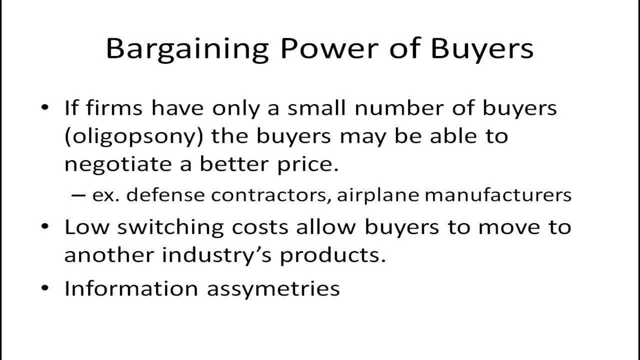 bargaining power of buyers in nike Porter's five forces of buyer bargaining power refers to the pressure consumers can exert on businesses to get them to provide higher quality products, better customer service, and lower prices when analyzing the bargaining power of buyers, conduct the industry analysis from the seller's perspective.