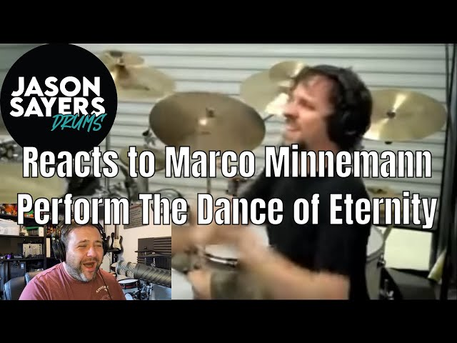 Drummer Reacts to Marco Minnemann - The Dance of Eternity - Dream Theater