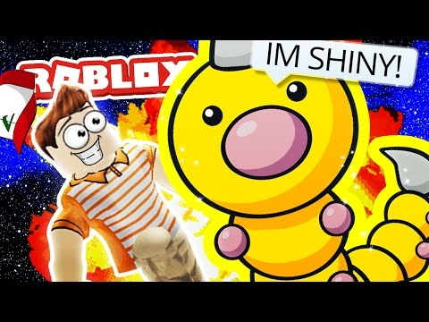 SHINY MR WEEDLE!! / Pokemon Fighters EX / Roblox Adventures
