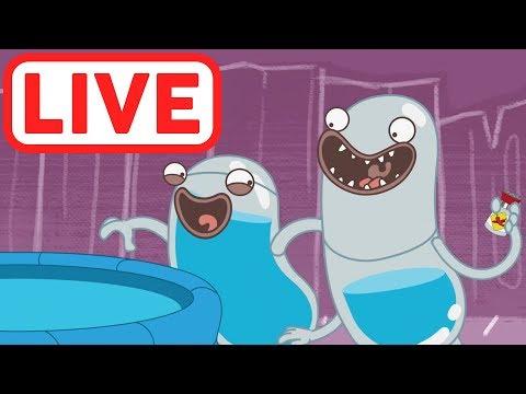 Hydro et Fluid LIVE | La science est amusante! | Dessins Animés pour Enfants | WildBrain