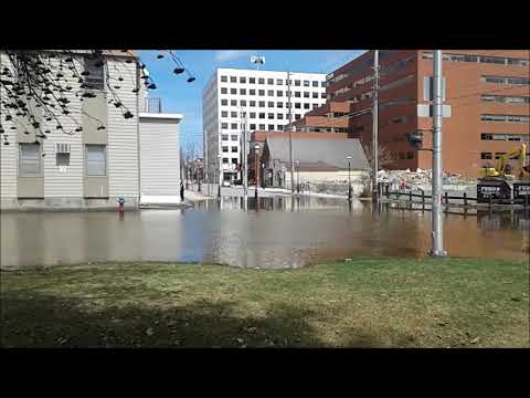 Fredericton Flooding Friday April 27th 2018