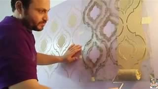كيفيه عمل البلاستيك على الاستنسل والشبلونه بالتفاصيل