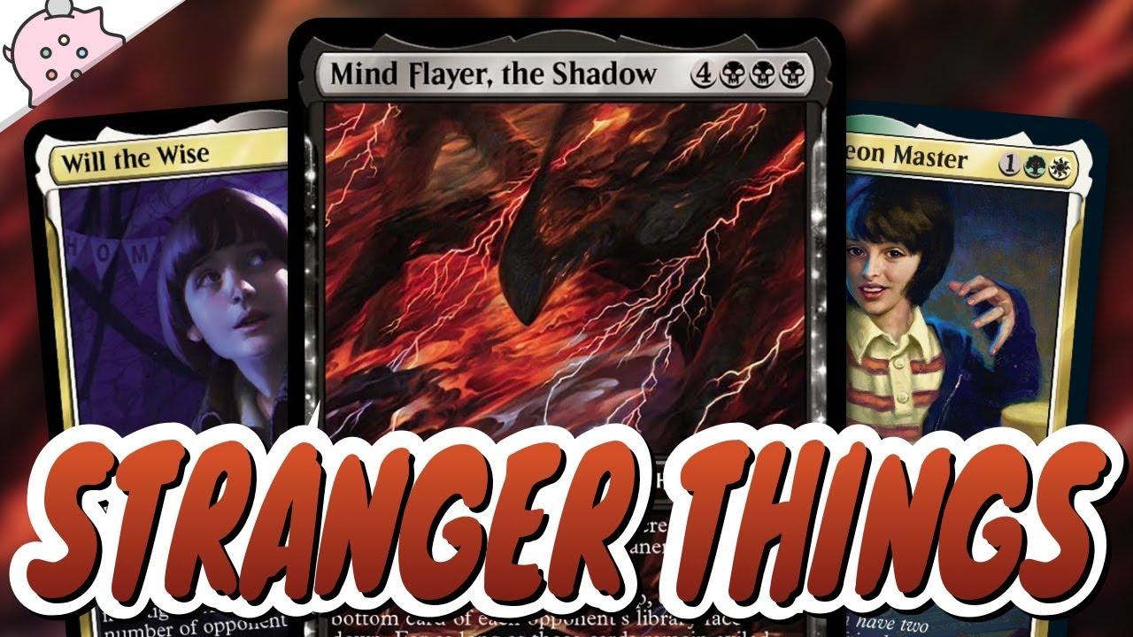 Things Get Even Stranger...   Stranger Things Secret Lair   Mechanically Unique   Mind Flayer   MTG