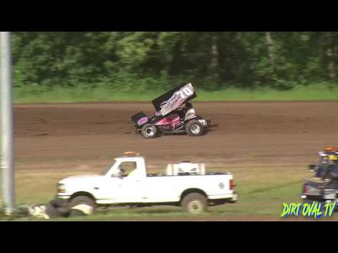 6 4 16 Limited 360 Sprints Qualifying Cottage Grove Speedway