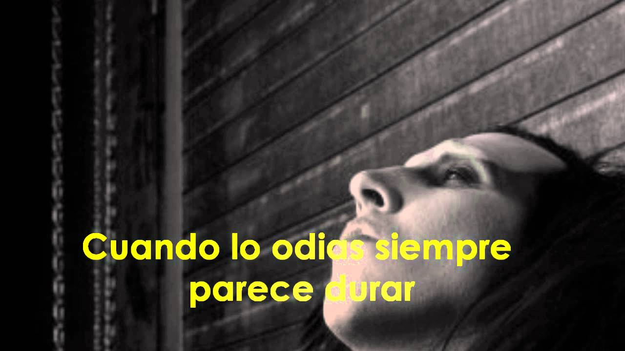 Marilyn Manson - The Speed of Pain Subtitulada