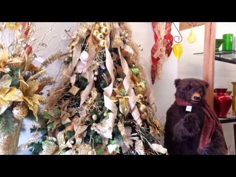 Decoracion arboles de navidad 2016 espigas dorados gold - Decoracion de arboles de navidad ...