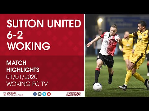 Sutton Woking Goals And Highlights
