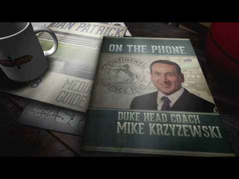 Coach K on The Dan Patrick Show (Full Interview) 12/22/16