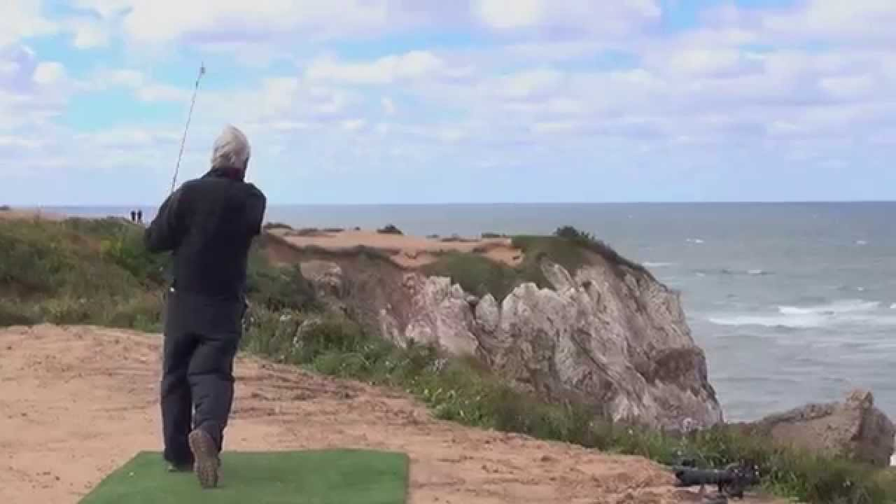 The greatest golf shot of 2013? Ben Crenshaw hits it to 5 feet at Cabot Cliffs!